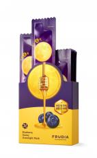 Питательная ночная маска с черникой и медом, 5 мл FRUDIA (4шт)