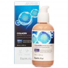 Коллагеновый тональный крем Эффект сияния SPF 15, оттенок #13, 100 мл FarmStay Collagen Water Full Moist Luminous Foundation SPF15