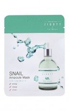 Ампульная маска с муцином улитки 27мл Premium Jigott&La Miso
