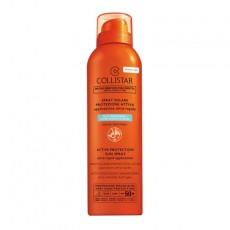 Спрей солнцезащитный для лица, тела и волос для гиперчувствительной кожи водостойкий Speciale Abbronzatura Perfetta/ Active Protection Sun Spray SPF 50+ COLLISTAR