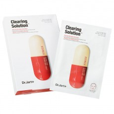 Набор масок для лица Dr.Jart+ Dermask Micro Jet Clearing Solution Очищающая с салициловой кислотой, 5 шт