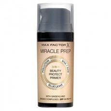 Праймер для лица Max Factor Miracle Prep 3in1 Beauty Protect Primer SPF30 PA+++ Max Factor