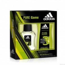 Набор мужской Adidas Pure Game (туалетная вода 50 мл + гель для душа 250 мл)