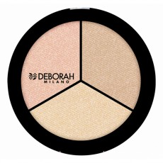 Палетка хайлайтеров TRIO HIGHLIGHTER PALETTE SECRETS OF STROBING Deborah Milano