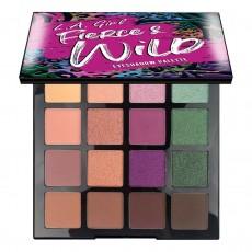 Палетка теней для век L.A.GIRL Fierce and Wild Eyeshadow Palette Eyeshadow Palette-Untamed (Purple)