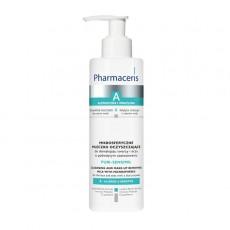 Очищ. молочко для снятия макияжа с лица и глаз Puri-Sensimil с микрогранулами Pharmaceris A