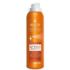 Ультра лёгкий солнцезащитный спрей для тела SPF 50+, 200 мл Rilastil SUN SYSTEM PPT Dry Touch