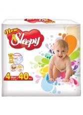 Подгузники New Sleepy Super Eco pack 4 Maxi (8-18 кг) 40 шт