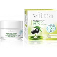 Регенерирующий и питательный - сухая и очень сухая кожа (оливковое масло, коллаген, эластин ) Vitea