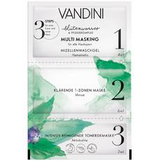 Маска для лица 3-х шаговая Мульти питание 3-Step Mask MULTI MASKING 3-Step Mask Aldo Vandini