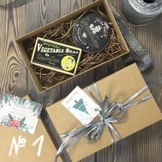 Подарочный набор для мужчин №1 (• Ультраматовая глина DapperDan Ultra Matt Clay 100 мл • Мыло DapperDan Lemongrass & Limes Vegetable Soap 190 г) DAPPERDAN