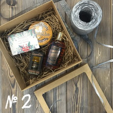 Подарочный набор для мужчин №2 (• Одеколон DapperDan Eau de Cologne 200 мл • Масло для бороды DapperDan Beard Oil 15 мл • Матовая паста DapperDan Matt Paste 100 мл) DAPPERDAN