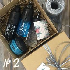 Подарочный набор для мужчин №2 (• Гель для бритья NISHMAN 03 Shaving gel 400 мл • Крем после бритья NISHMAN 01 AFTER SHAVE CREAM&COLOGNE 400 мл • Воск-паутинка для укладки Nishman S3 Spider BlueWeb 150 мл • Одеколон NISHMAN 01 ANTARCTICA 400 мл) NISHMAN