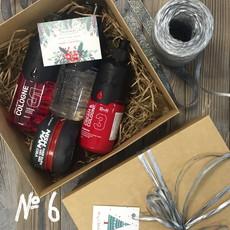 Подарочный набор для мужчин №6 (• Крем после бритья NISHMAN 03 AFTER SHAVE CREAM&COLOGNE 400 мл • Воск для укладки NISHMAN 09 Cola 150 мл • Одеколон NISHMAN 05 VOLCANO 400 мл • Гель для бритья NISHMAN 03 Shaving gel 400 мл) NISHMAN