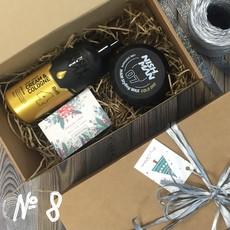Подарочный набор для мужчин №8 (• Крем после бритья NISHMAN 04 AFTER SHAVE CREAM&COLOGNE 400 мл • Воск для укладки NISHMAN 07 Gold One 150 мл) NISHMAN
