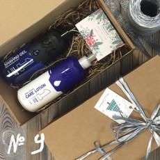 Подарочный набор для мужчин №9 (• Лосьон после бритья NISHMAN 1 Iceberg 400 мл • Гель для бритья NISHMAN 01 Shaving gel 400 мл) NISHMAN