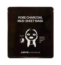 Глиняная маска от черных точек с углем JJYong