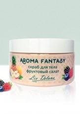 """Скраб для тела """"Фруктовый салат"""" Aroma Fantasy Liv Delano"""