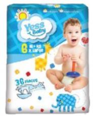 Подгузники Yess Baby Jumbo 6 Extra large (16+ кг) 36 шт