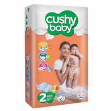 Подгузники Cushy Baby Jumbo 2 Mini (3-6 кг) 80 шт