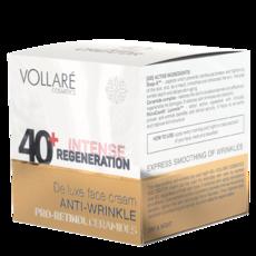 Увлажняющий крем для лица против морщин на день и ночь 40+ Vollare Face