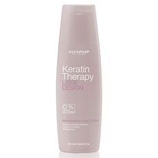 Кондиционер-гладкость для волос ухаживающий (без сульфатов, солей и парабенов) Lisse Design Keratin Therapy Alfaparf