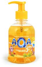 """Жидкое мыло для детей """"Янтарная лагуна"""" AQA baby"""