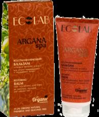 Восстанавливающий бальзам для волос «Глубокое питание и Блеск» ARGANA SPA ECOLAB