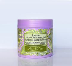 Бальзам для сильно повреждённых волос Питание и восстановление Oriental touch Liv Delano
