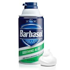 Крем-пена для бритья смягчающая с экст. алоэ BARBASOL Soothing Aloe Shaving Cream