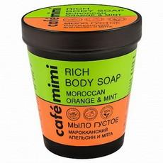 Мыло густое для тела Марроканский апельсин и Мята TM cafémimi