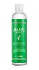 Тоник для лица успокаивающий SECRETKEY TEA TREE REFRESH CALMING TONER