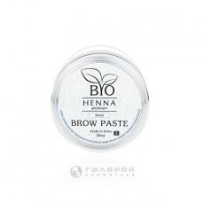 Brow-паста для бровей белая, 10 гр BIO HENNA