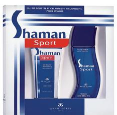 """Подарочный набор """"Shaman Sport"""" Туалетная вода, 100 мл , гель для душа, 100 мл  ARNO SOREL"""