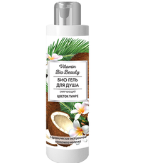 БИО Гель для душа «Цветок тиаре» смягчающий Vitamin Bio Beauty