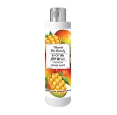 БИО Гель для душа «Сочное манго» освежающий Vitamin Bio Beauty