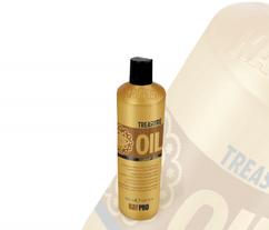 Увлажняющий и придающий блеск шампунь для сухих, хрупких обезвоженных волос TREASURE OIL 5 LUXURY OILS KAYPRO