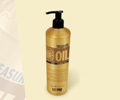 Увлажняющий и придающий блеск кондиционер для сухих, хрупких и обезвоженных волос TREASURE OIL 5 LUXURY OILS KAYPRO