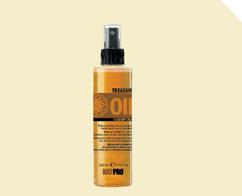 Двухфазный кондиционер для увлажнения и блеска сухих, хрупких и обезвоженных волос TREASURE OIL 5 LUXURY OILS KAYPRO