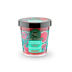Сахарный скраб для тела Watermelon Sugar Sorbet «Organic Shop»