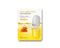 Маска тканевая увлажняющая Honey Brightening daily solution mask с экстрактом меда BONIBELLE