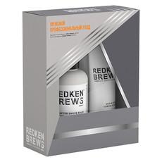 Бритье Набор 2020 (крем для бритья 150 мл+бальзам после бритья 125 мл) Redken BREW