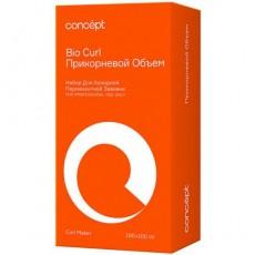 Набор для холодной перманентной завивки прикорневой объем для всех типов волос CONCEPT SHINE CURL