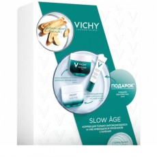 Подарочный набор SLOW AGE (Восстанавливающий ночной крем и маска + SLOW AGE Укрепляющий крем против признаков старения на разных стадиях формирования + SLOW AGE Укрепляющий уход для контура глаз против признаков старения на разных стадиях формирования в подарок)