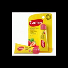 Бальзам для губ с ароматом клубники с SPF15, туба в блистере Carmex