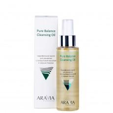 Гидрофильное масло для умывания с салициловой кислотой и чёрным тмином Pure Balance Cleansing Oil, 110мл ARAVIA Professional