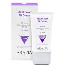 BB-крем увлажняющий SPF-15 Ideal Cover BB-Cream Sand 02 ARAVIA Professional