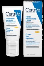 Лосьон (крем) увлажняющий для нормальной и сухой кожи лица SPF 25 CeraVe