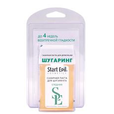 """Набор для шугаринга (сахарная паста в картридже """"Средняя"""", 100 г + бумажные полоски для депиляции) Start Epil"""