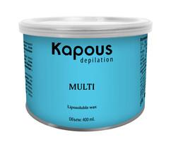 Жирорастворимый воск для спортсменов и мужчин, для жестких волос в банках 400 мл SILVER Kapous